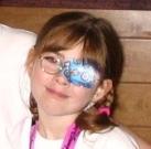 Jillian with eyepatch